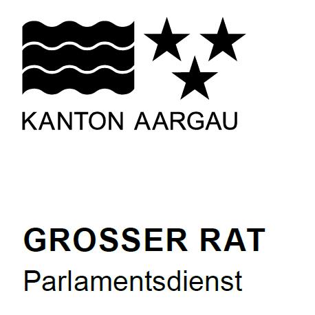 Kanton Aargau Grosser Rat Parlamentsdienst